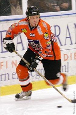 Jason McKechnie in his final season for Nijmegen